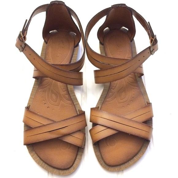 Clarks Billie Jazz Honey brown gladiator sandals